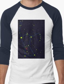 Orion constellation Men's Baseball ¾ T-Shirt