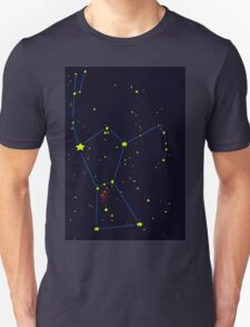 Orion constellation Unisex T-Shirt