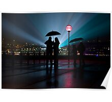 0170 Romance in the Rain Poster