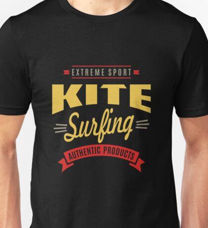 Extreme Sport Kitesurfing Art06c Unisex T-Shirt