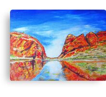 Glen Helen Gorge N.T. Canvas Print