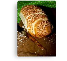 Hmmmmmmm  smell the bread  Canvas Print