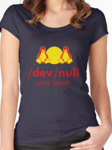 Dev null Women's Fitted Scoop T-Shirt