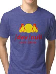 Dev null Tri-blend T-Shirt