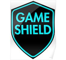 Game Shield (blue) Poster