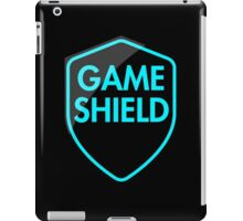 Game Shield (blue) iPad Case/Skin