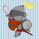 little knight in armor by alapapaju