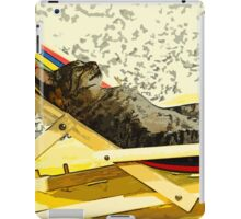 Wild nature - cat iPad Case/Skin