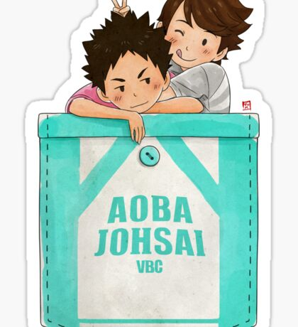 Pocket Iwaoi Sticker