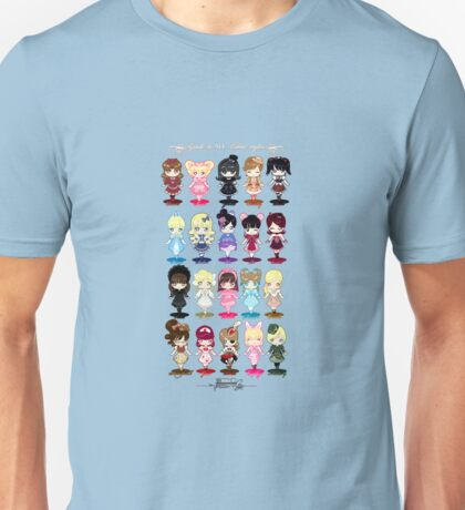 Guide to All Lolita Styles Unisex T-Shirt