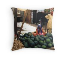 Balls Throw Pillow