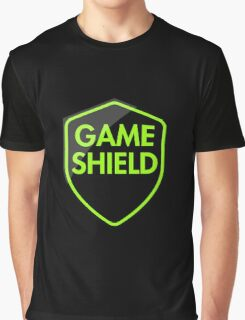 Game Shield (green) Graphic T-Shirt