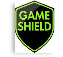 Game Shield (green) Canvas Print