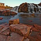 Big Sioux River Falls by Dan Mihai