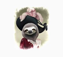 Aristocratic Lady Sloth Oil Painting Style Portrait T-Shirt