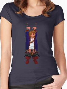 Guybrush hanging (Monkey Island 2) Women's Fitted Scoop T-Shirt