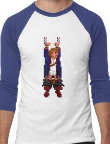 Guybrush hanging (Monkey Island 2) Men's Baseball ¾ T-Shirt