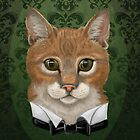 Dapper Chap Cat by Helen Lloyd