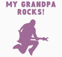 My Grandpa Rocks Baby Tee