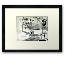 Outhouse Mouse Framed Print