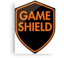 Game Shield (orange) Canvas Print