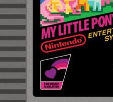 MLP Retro Cart Sticker