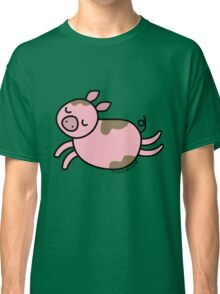 Leaping Pig Classic T-Shirt