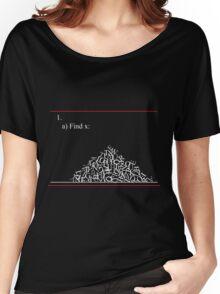 Math problem Women's Relaxed Fit T-Shirt