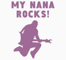 My Nana Rocks One Piece - Short Sleeve