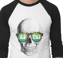 AEPHI SKULL Men's Baseball ¾ T-Shirt