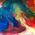 Colour flow 08 by Luke Carl Thompson