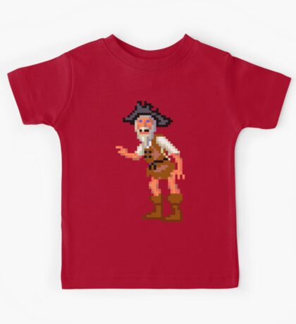 Herman Toothrot #02 (Monkey Island) Kids Tee