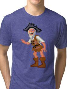 Herman Toothrot #02 (Monkey Island) Tri-blend T-Shirt