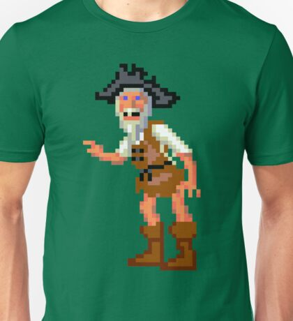 Herman Toothrot #02 (Monkey Island) Unisex T-Shirt