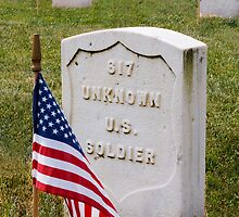 Unknown Hero on Memorial Day by Kenneth Keifer