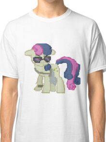 Special Agent Sweetie Drops Bon Bon My Little Pony Brony Pegasister Classic T-Shirt