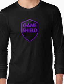 Game Shield (purple) Long Sleeve T-Shirt