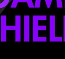 Game Shield (purple) Sticker