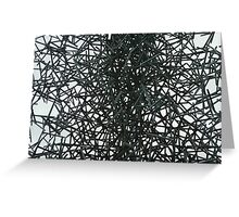 Spikes of steel Greeting Card