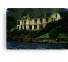 Alcatraz Night Canvas Print
