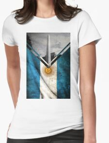 Flags - Argentina Womens Fitted T-Shirt