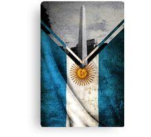Flags - Argentina Canvas Print