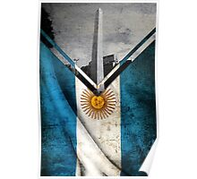 Flags - Argentina Poster