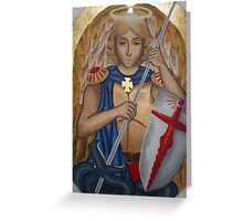 St Michael the Archangel Greeting Card