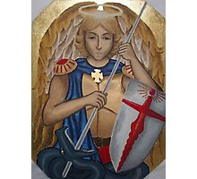 St Michael the Archangel Photographic Print