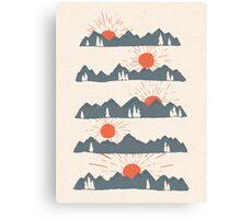 Sunrises...Sunsets... Canvas Print