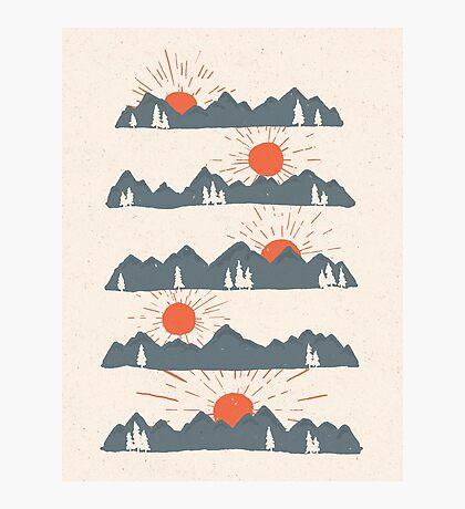 Sunrises...Sunsets... Photographic Print