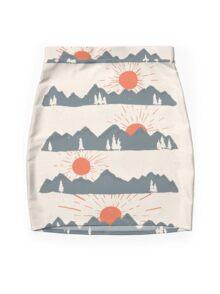 Sunrises...Sunsets... Mini Skirt