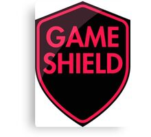 Game Shield (red-pink) Canvas Print