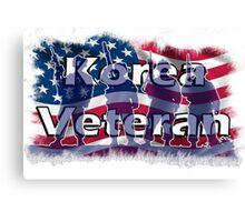 Korea Vetreran Canvas Print
